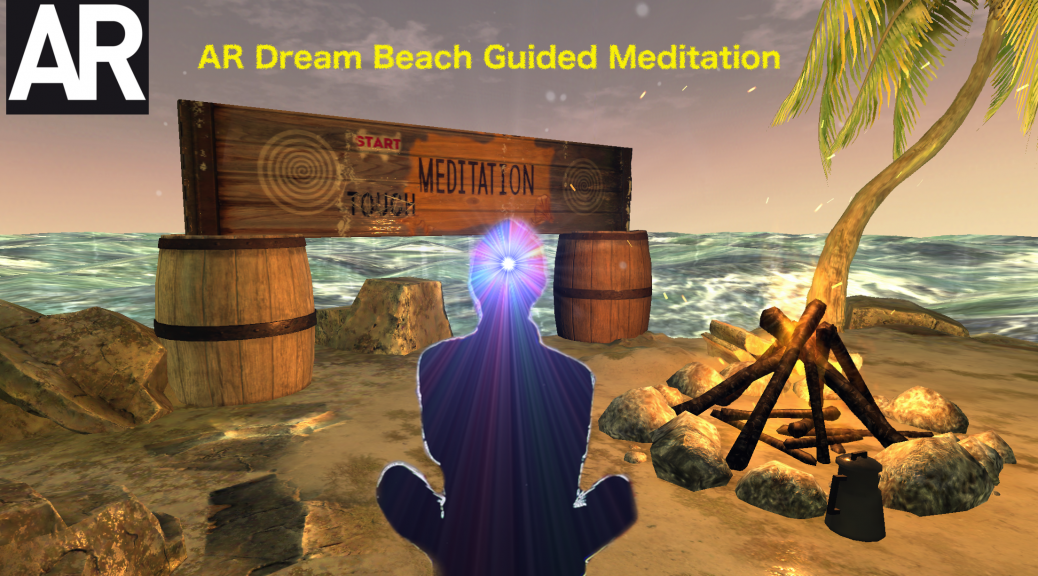 AR: Augmented Reality Guided Meditation To Find Your Inner Peace