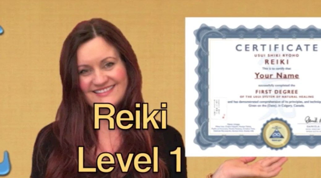 How To Learn Reiki Level 1 Calgary: Certified!