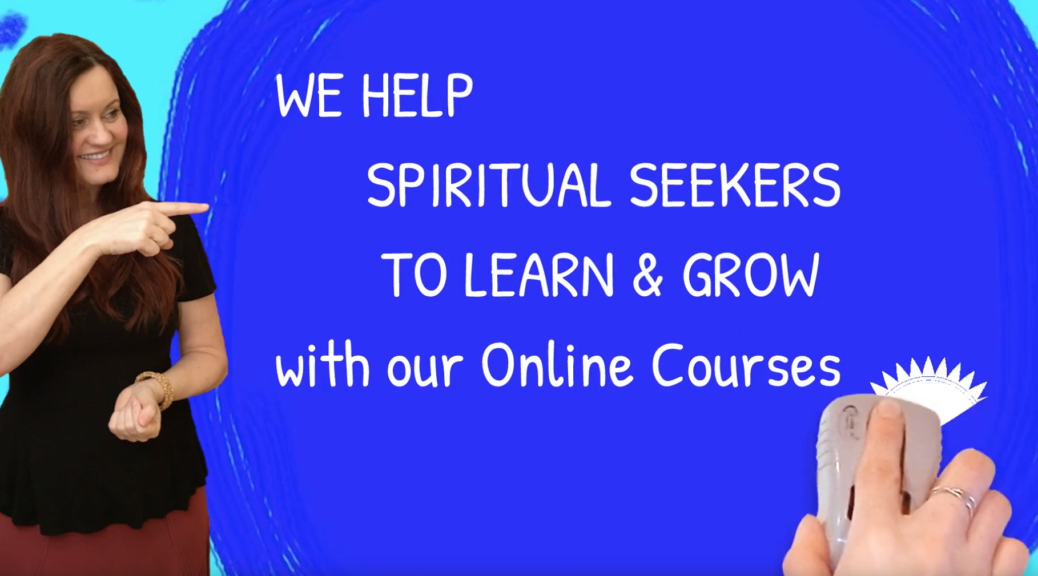 Spiritual Healing Through Spiritual Development Online Classes